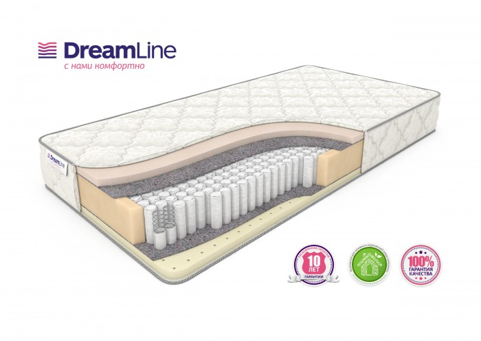 Матрас DreamLine Memory Sleep S1000 (ДримЛайн Мемори Слип S1000) Распродажа